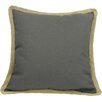 <strong>Xia Home Fashions</strong> Classic Jute Trimmed Solid Pillow