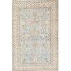 Pasargad Khotan Light Grey/Blue Tribal Traditional Oriental Rug