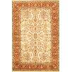 Pasargad Sarouk Rust/Cream Traditional Classical Persian Style Wool Rug