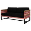 Mamagreen Stripe 2-Seater Sofa with Cushion