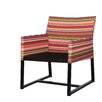 Mamagreen Stripe Casual Chair with Cushion