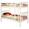 Donco Kids Donco Twin Bunk Bed with Built-In Ladder