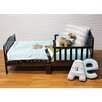 One Grace Place Puppy Pal Boy 4 Piece Toddler Bedding Set