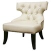 <strong>Baxton Studio Leather Chair</strong> by Wholesale Interiors