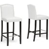 "Wholesale Interiors Baxton Studio Libra 30.5"" Bar Stool (Set of 2)"