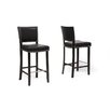 <strong>Wholesale Interiors</strong> Baxton Studio Aries Bar Stool with Cushion (Set of 2)