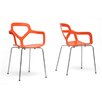 Wholesale Interiors Baxton Studio Miami Arm Chair (Set of 2)