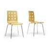 Wholesale Interiors Baxton Studio Celeste Side Chair (Set of 2)
