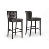 "Wholesale Interiors Baxton Studio Prospect 31"" Bar Stool (Set of 2)"