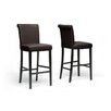 "Wholesale Interiors Baxton Studio Bianca 30"" Bar Stool (Set of 2)"