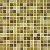 <strong>Tesserae Blends Glass Tile in Caramel Cream</strong> by Giorbello