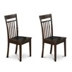 East West Furniture Capri Side Chair (Set of 2)