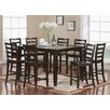 East West Furniture Fairwinds 7 Piece Counter Height Dining Set