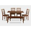 East West Furniture Norfolk 6 Piece Dining Set