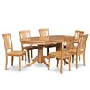 East West Furniture Vancouver 7 Piece Dining Set