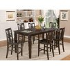 Wooden Importers Logan 5 Piece Counter Height Dining Set