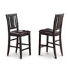 Wooden Importers Buckland Counter Height Chair (Set of 2)