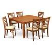 Wooden Importers Parfait 7 Piece Dining Set