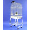 <strong>A&E Cage Co.</strong> Dome Top Bird Cage with Plastic Base and Stand