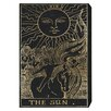 Oliver Gal The Sun Tarot Graphic Art on Canvas