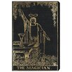 Oliver Gal The Magician Tarot Graphic Art on Canvas