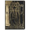 Oliver Gal The High Priestess Tarot Graphic Art on Canvas