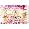 Oliver Gal Peach Dunes Graphic Art on Wrapped Canvas