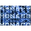 Oliver Gal Monaco Graphic Art on Canvas
