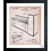 Oliver Gal Design for a Combination Kitchen 1939 Framed Painting Print