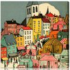 """Oliver Gal """"Little Town"""" by Olivia's Easel Canvas Art"""