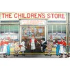"""Oliver Gal """"The Children's Store"""" by Olivia's Easel Canvas Art"""
