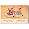 """Oliver Gal """"Butterfly Kids Poem"""" by Olivia's Easel Canvas Art"""