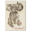 "Oliver Gal ""Elephant"" by Olivia's Easel Canvas Art"