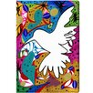 Oliver Gal Hummingbird of Peace Graphic Art on Canvas