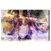 Oliver Gal Champagne Bath Graphic Art on Canvas