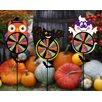 Evergreen Flag & Garden Halloween 3 Piece Pals Tummy Spinner Set