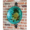 Evergreen Flag & Garden Pineapple Bird Bath