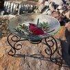 Evergreen Flag & Garden Table Top Bird Bath Stand