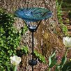 <strong>Evergreen Flag & Garden</strong> Floral Burst Birdbath