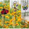 Evergreen Flag & Garden Glittered Garden Rain Gauge Garden Stake (Set of 3)