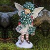 <strong>New Creative</strong> Holiday Shimmer Fairy Statue Christmas Decoration