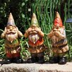 New Creative 3 Piece Wise Gnomes Statue Set
