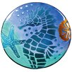 Cypress Home Sea Horse Serving Platter