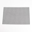 Saro Houndstooth Design Placemat (Set of 4)
