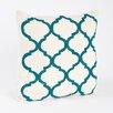 Saro Zsa Zsa Moroccan Design Beaded Throw Pillow