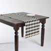 Saro Harlequin Design Table Runner