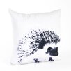 Saro Porcupine Design Pillow