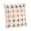 Saro Sparkling Diamond Design Pillow