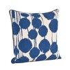 Saro Artistica Inkblot Design Pillow