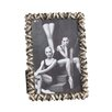 Saro Antique Design Jeweled Picture Frame